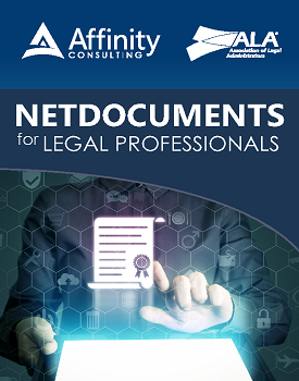 NetDocuments for Legal Professionals (Indv. License)