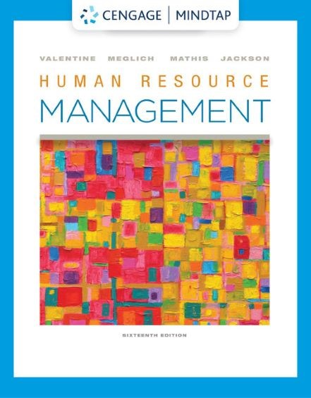 Human Resource Management, 16th Edition